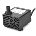AT-808 ABS 5W Submersible Water Pump - Black (220~240V / EU Plug)