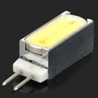 Rectangle Shaped G4 2W 90lm 1-COB LED Cool White Light Lamp (DC 12V)
