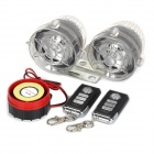 YQS NST-A808 Anti-Theft Security Alarm System w/ MP3 Speaker + Colorful LED Lights for Motorcycle