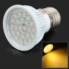 Lexing LX-DB-7 E27 4.5W 330lm 3500K 24-SMD 2835 LED Warm White Spotlight - White (AC 85~265V)