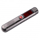 "Beaux Source K2 1.3 ""LED Digital Voice Recorder Lecteur MP3 - Argent (8 Go)"