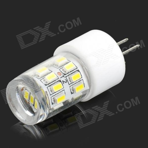 HH40-1 G4 2W 200lm 6000K 27-SMD 3014 LED White Light Lamp - White + Translucent (AC 220~240V)