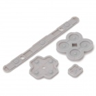Replacement Silicone Conductive Adhesive Pads for 3DSXL / 3DSLL - Grey (4 PCS)