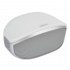 iKANOO i608 Bluetooth V2.1 Speaker w/ 3.5mm / Micro USB / Microphone - White