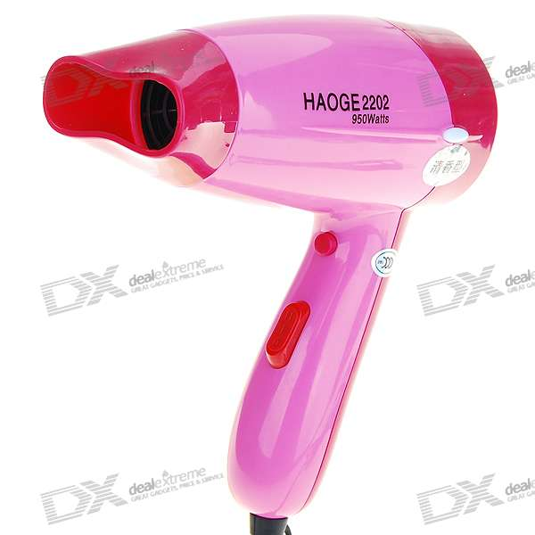 950W Fragrance Releasing Cool/Hot Hair Dryer - Pink (220V AC)