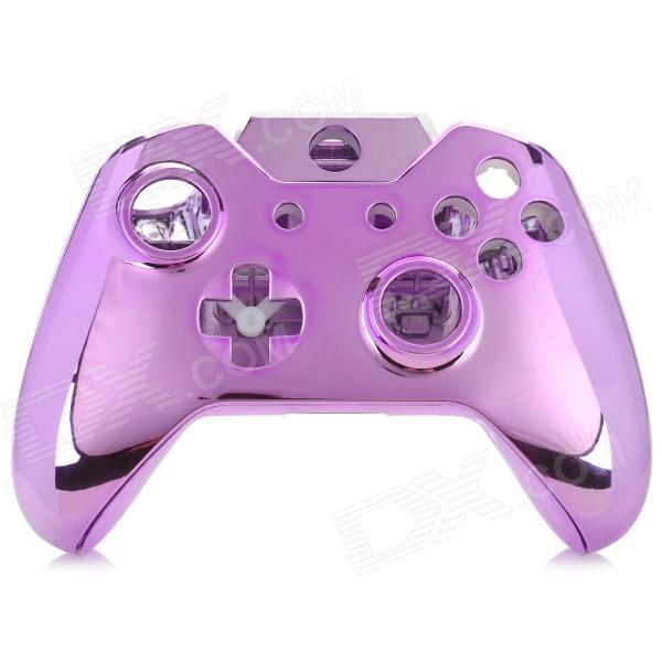 Replacement ABS Wireless Controller Shell Case for XBOX ONE - Pinkish Purple one piece 1x brand new high quality silicon protective skin case cover for xbox 360 remote controller blue green mix color