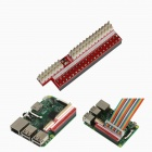 Tengying RPI26 26P to 40P Adapter Board for Raspberry Pi B+ - Red