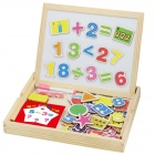 Wood Magnetic Educational Jigsaw Toy for Kids - Multicolored