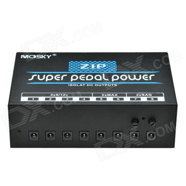 MOSKY ZIP 8-Port Super Pedal R Muting Multifunction Power Supply System for Electric Guitar - Black greene r the concise 48 laws of power