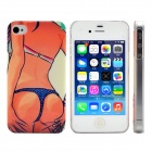 Sexy Bikini Girl Pattern Protective Plastic Hard Back Case Cover for IPHONE 4 / 4S