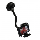 "Car 360"" Rotatable Suction Cup Holder for Phone / GPS / Tablet - Black"