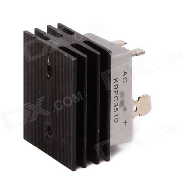 KBPC3510 35A 1000V Aluminum Heatsink Base Single Phase Bridge Rectifier