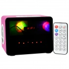 HY WB-007 Touch Speaker w/ Mini USB / USB 2.0 / 3.5mm / TF / FM - Pink + Black + White