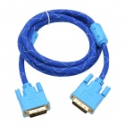 CHEERLINK Male to Male DVI 24+1 Video Cable - Blue (150cm)