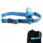 NEOpine G-547B Stylish Chest Strap Belt / Shoulder Harness Mount for Gopro Hero 4/ 3+ / 3 / 2 - Blue