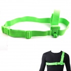 NEOpine Chest Strap Belt Shoulder Harness Mount for GoPro HERO 3+ / 3 / 2 - Green