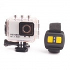5.0MP Full HD 1080P 50M Waterproof CMOS Sports Camera DVR Camcorder w/ Wifi H264 HDMI + IR Remote