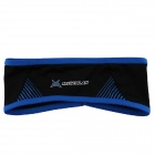 MYSENLAN Outdoor Sports Bicycle Cycling Sweat Absorbent Head Band - Black + Blue