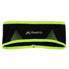 MYSENLAN Outdoor Sports Bicycle Cycling Sweat Absorbent Head Band - Black + Green