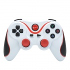 Lemon S600 Bluetooth V3.0 Wireless 15-Key Game Joystick / Controller for Android Phone - White + Red