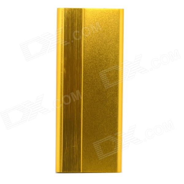 3000mAh 5V Li-Polymer Battery Mobile Power Bank - Golden