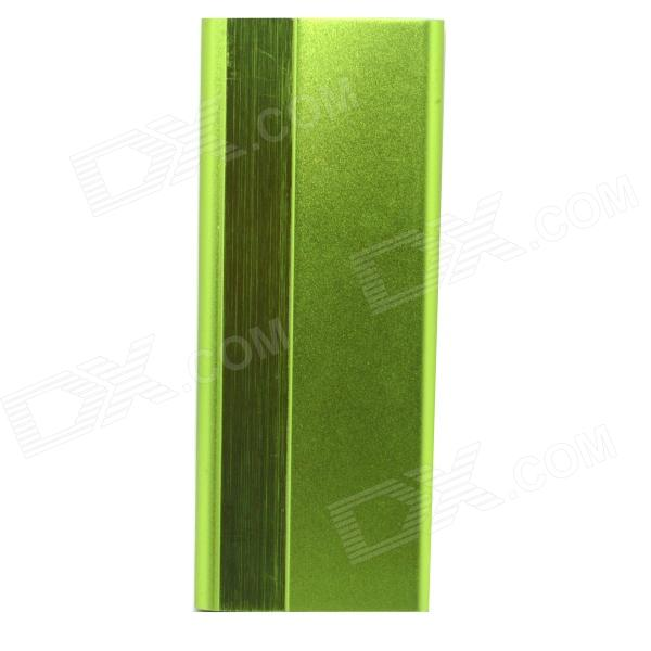 3000mAh 5V Li-Polymer Battery Mobile Power Bank - Green