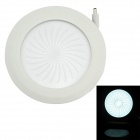 TWP TWP-9 9W 810lm 6500K 45-SMD 2835 LED White Round Floral Panel Light - White (AC 85~265V)