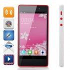 "Infocus M210 Android 4.2 MT6582 Quad-Core WCDMA Telefon w / 4.7 ""HD, 8.0MP, Wi-Fi, GPS - White"