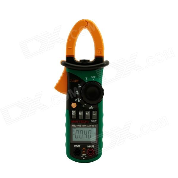 "MASTECH MS2108S RMS real Multifunción 1.5 ""AC / DC Digital Clamp Meter - Negro + Verde"