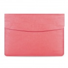 "Cartinoe Protective PU Leather Sleeve Bag + Mouse Bag Kit for MacBook Air 13.3"" - Pink"