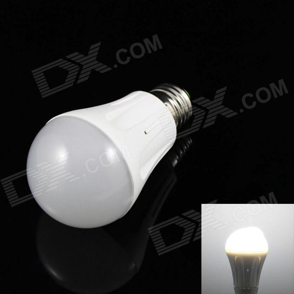 SKLED SK-W5 E27 5W 400lm 18-SMD 3528 LED Cold White Light Bulb (220V)