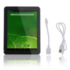 "AMOI Q86 8.0 ""Quad-Core-Android 4.2.2 Tablet PC m / 1 GB RAM, 8 GB ROM, Wi-Fi - Sølv"