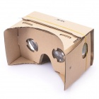 DIY Google Cardboard Mobile Phone Virtual Reality 3D Glasses for IPHONE / Samsung / Google Nexus 6