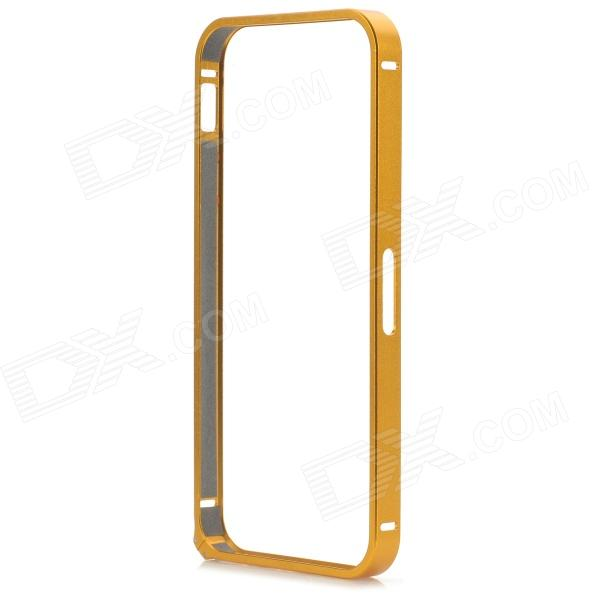 Protective Aluminum Alloy Bumper Frame for IPHONE 5 / 5S - Golden protective aluminum alloy bumper frame for iphone 6 black golden