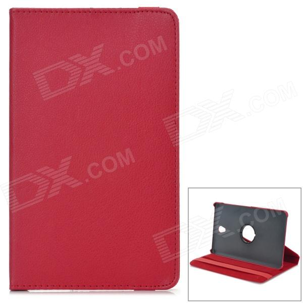 все цены на 360' Rotary Flip Open PC + PU Case w/ Stand for 8.4'' Samsung Galaxy Tab S T700 - Red