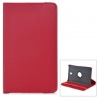 360' Rotary Flip Open PC + PU Case w/ Stand for 8.4'' Samsung Galaxy Tab S T700 - Red