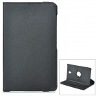 360' Rotary Flip Open PC + PU Case w/ Stand for 8.4'' Samsung Galaxy Tab S T700 - Black