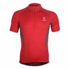 ARSUXEO AR665 Polyester Cycling Short-sleeve Top - Red (Size XXL)