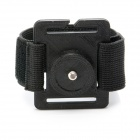 "JUSTONE 3D Printing 1/4"" Wristband Mount for Camera / GoPro Hero 2 / 3 / 3+ / SJ4000 - Black"