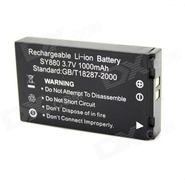 3 7v 1000mah Battery For Sport Camera Wdv5000 G386