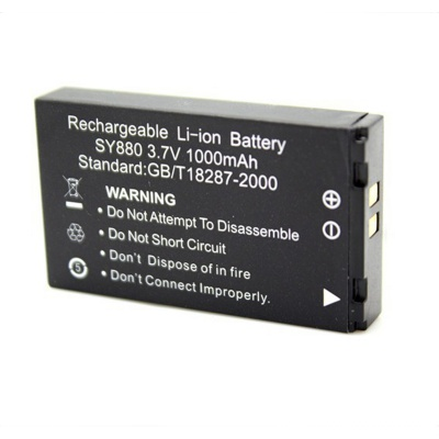 3.7V 1000mAh Battery for Sport Camera WDV5000 / G386 - Black