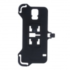 Hard and Durable Plastic Cellphone Back Clip for Samsung Galaxy S5 - Black