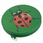 YWDG 3A24776 Beetles Pattern 24-CD Carrier Bag Pouch - Deep Green