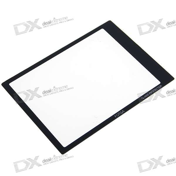 Professional Optical Glass LCD Screen Protector for Sony A300/A350