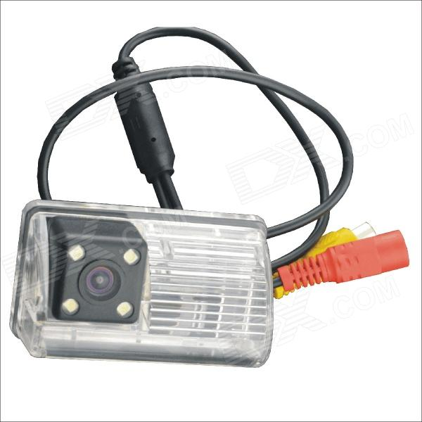 "Carking Car 1/4 ""CCD de alta definição de backup Rear View Camera w / 4 LED para Toyota Corolla"