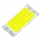 F3-z 12W 800lm 6000K 24-COB LED White Light Module - Yellow + Silver (12~14V)
