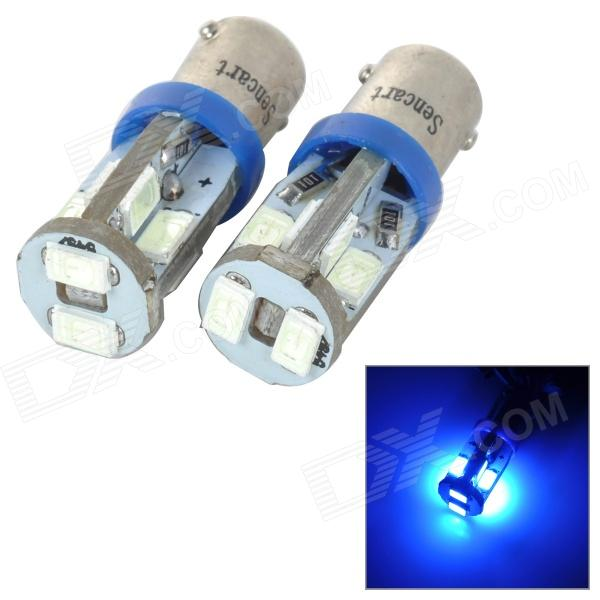 SENCART BA9S 4W 25lm 490nm 5730 SMD LED Blue Light Car Reading / Width Lamp (2pcs / 12~16V)