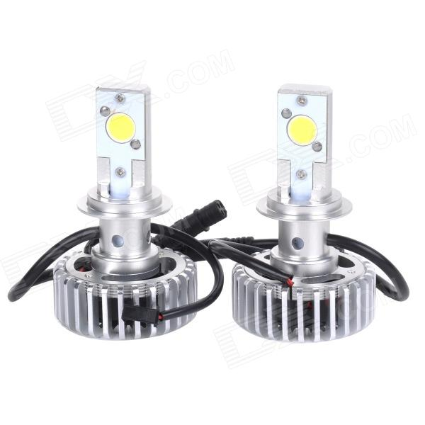 HONSCO H7 24W 1800lm 5000K White Light LED High Power Car Headlight Kit (DC12~18V / 2 PCS) new arrival canbus p6 car led head lamp conversion kit bulb 4500lm 2 9000lm led headlight super bright 45w 2 90w car styling