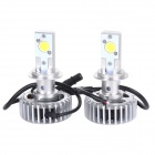 HONSCO H7 24W 1800lm 5000K White Light CREE LED High Power Car Headlight Kit (DC12~18V / 2 PCS)