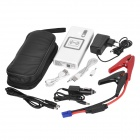 LetterFire 12000mAh Car Emergency Launcher Jump Starter Power Bank w/ Wifi + LED Torch - White